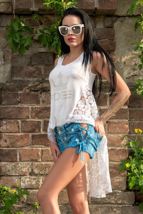 blusa louise in Bluse