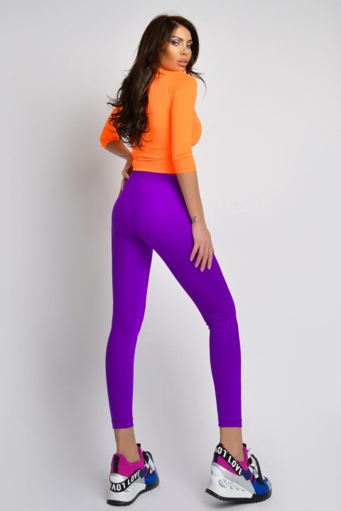 Leggings viola.